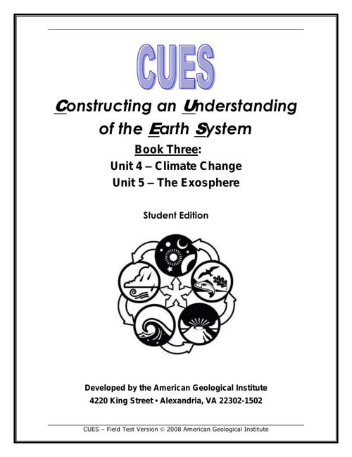 CUES Book 3