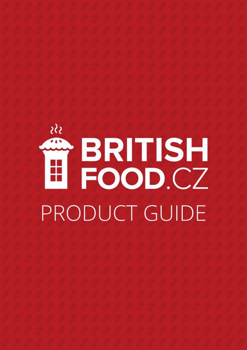 BritishFood.cz Product Guide