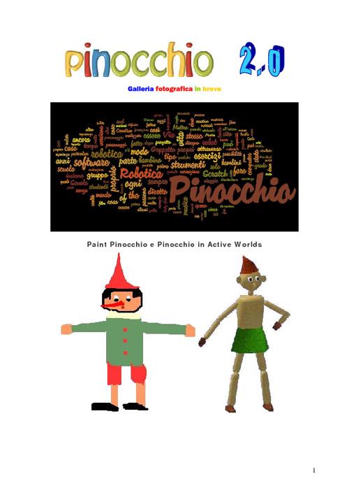 Pinocchio 2.0 breve galleria fotografica