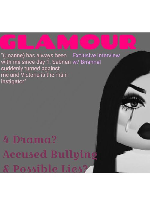 Roblox Glamour Issue #001