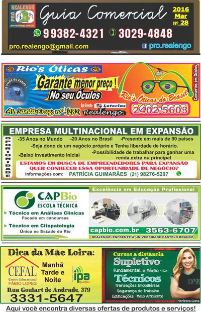 GUIA COMERCIAL N 28 MARÇO