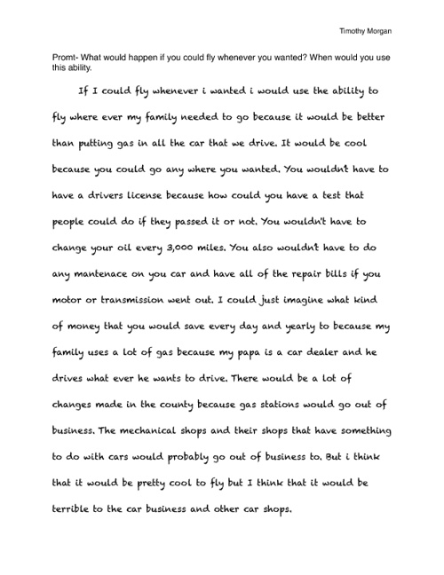 Journal book 1-Timothy Morgan