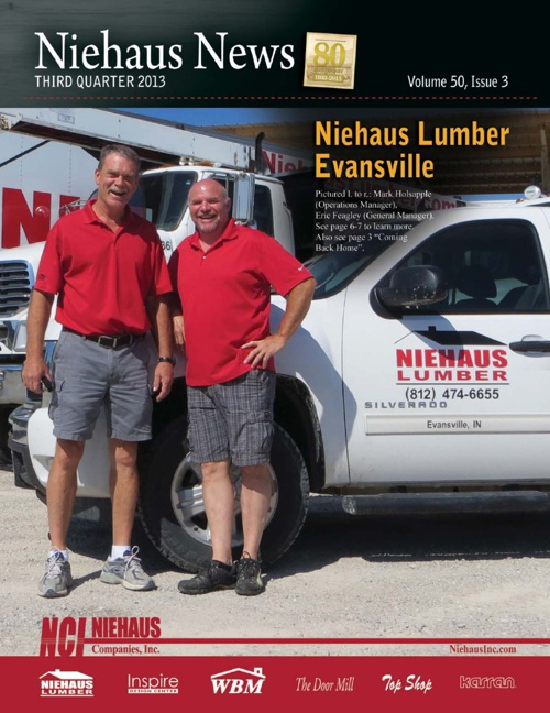 Niehaus Newsletter 3rd Quarter 2013