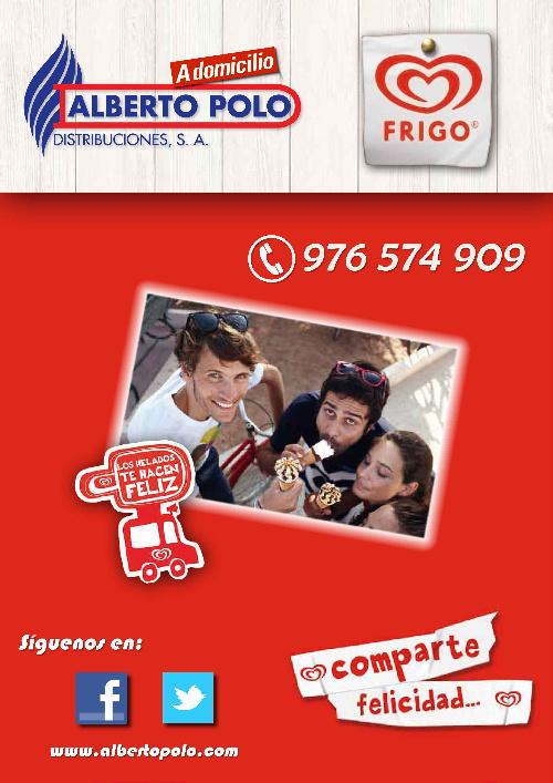 Helados Frigo - Alberto Polo A domicilio
