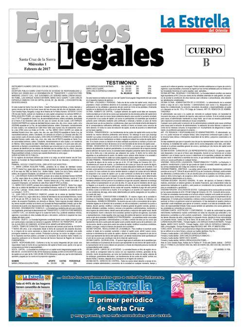 Judiciales 1 miércoles - febrero 2017