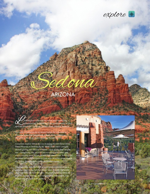 Simply Gluten Free Magazine: Sedona Feature