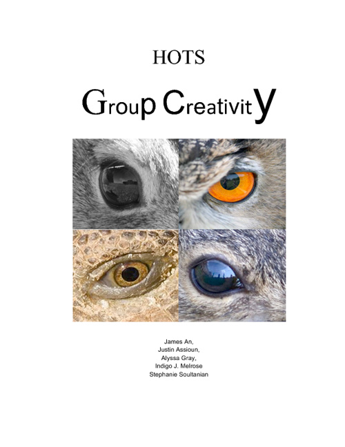 HOTS: GrOuP CrEAtIviTy