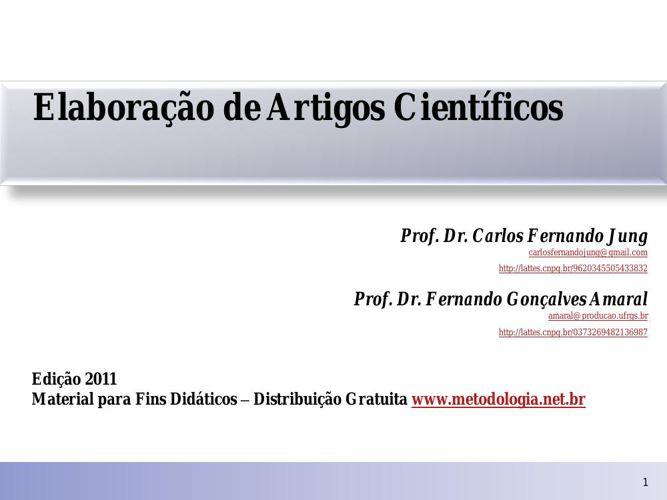 Elaboracao_de_Artigos_Cientificos_-_JUNG_e_AMARAL_2011
