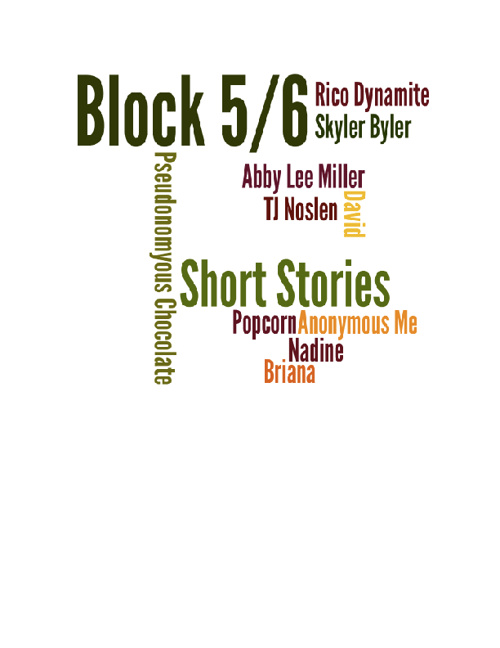 Short Stories from Block 5/6
