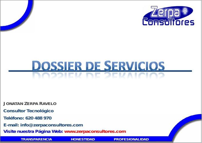 DOSSIER ZERPA CONSULTORES