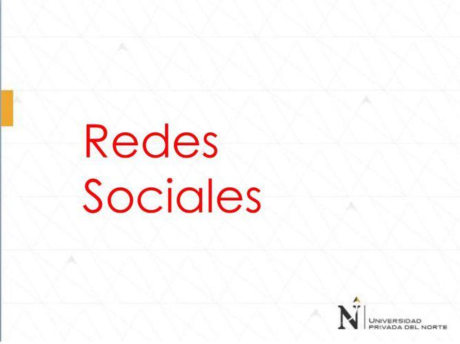 REDES SOCIALES SESIÓN 09