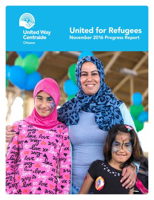 United for Refugees November 2016 Progress Report - English