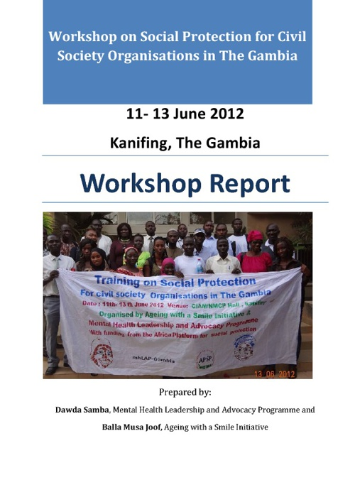 Social Protection Workshop Report