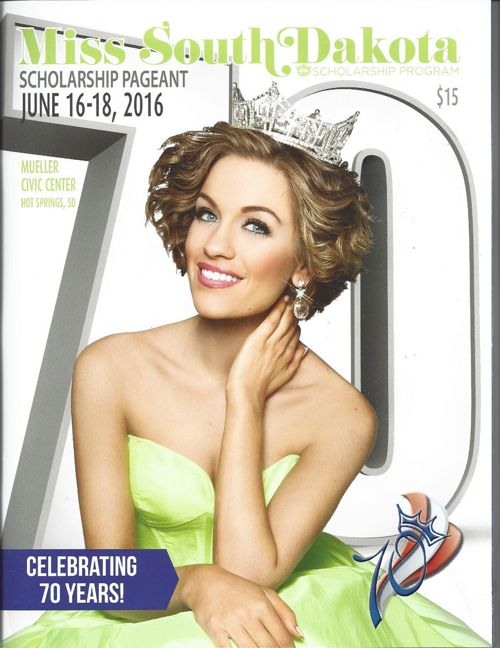 Miss South Dakota Pageant Program