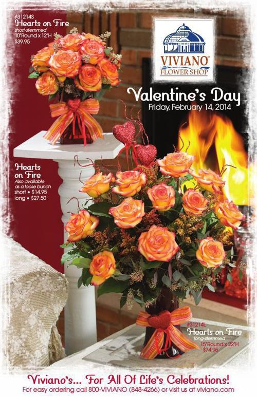 Viviano's Valentine's Day 2014 Catalog