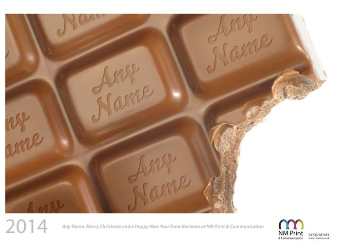 Personalised calendar - Food Lovers