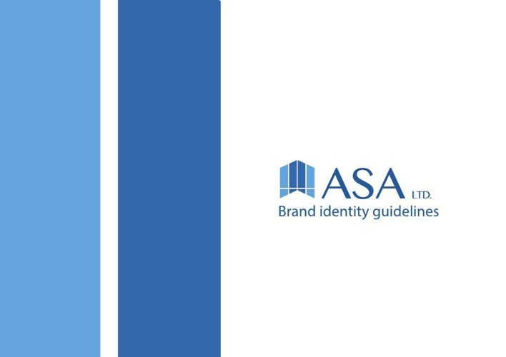 ASA Compiny Brand identity guidelines