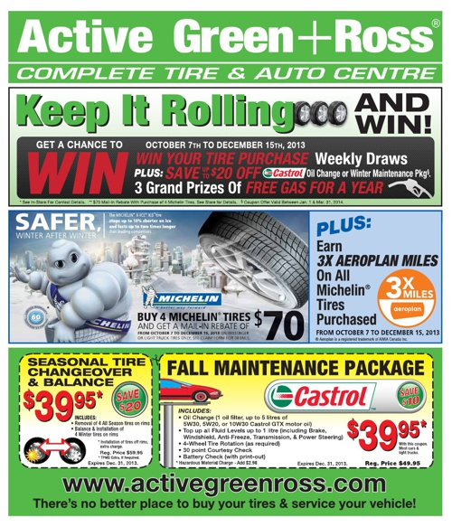 Active Green + Ross - 10/2013