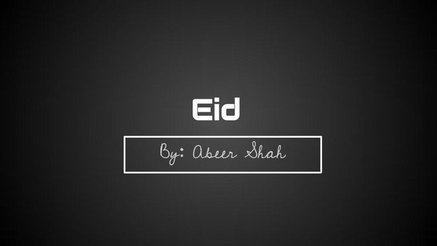 18 Abeer -- Eid