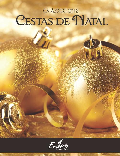 Cestas de Natal Empório do Pão 2012