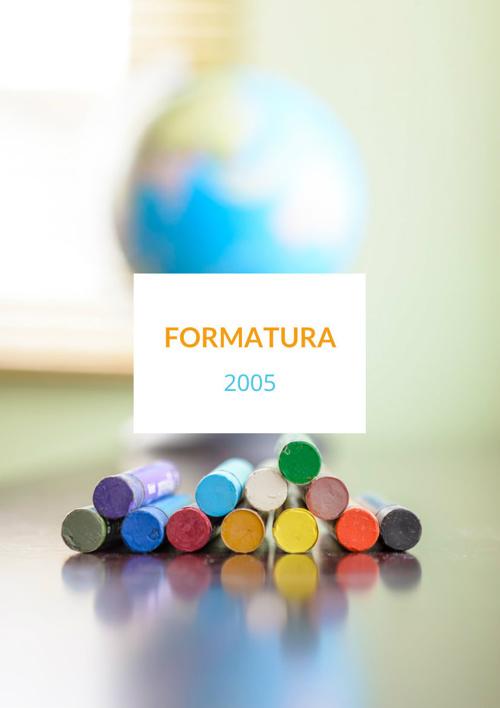 FORMATURA 2005