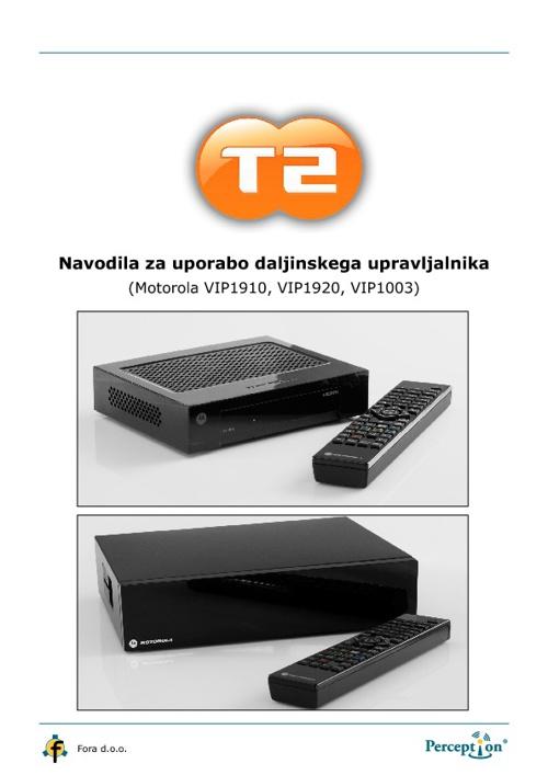 Navodila IPTV T-2