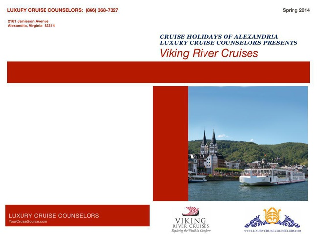 Viking Cruise Spring Brochure