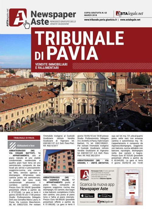 Pavia marzo 2018