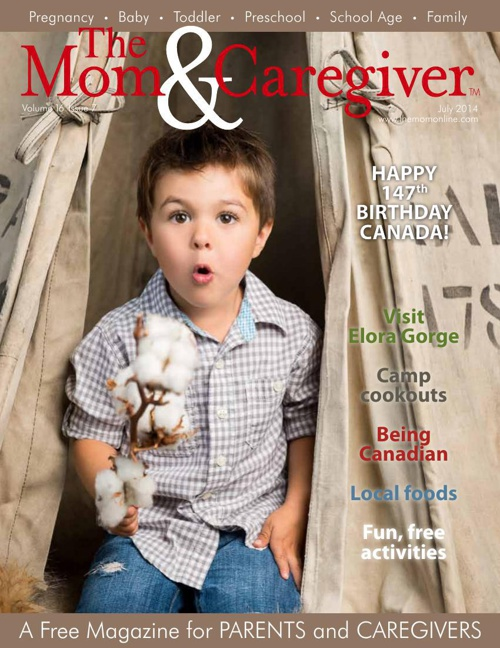 the Mom and Caregiver magazine