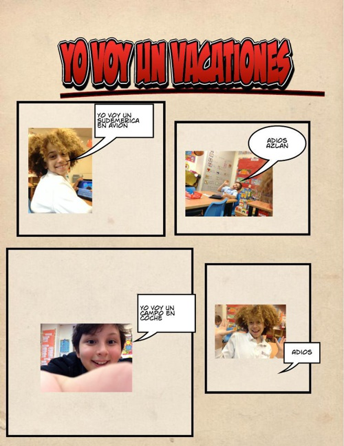 Spanish Comics D Class of 2024
