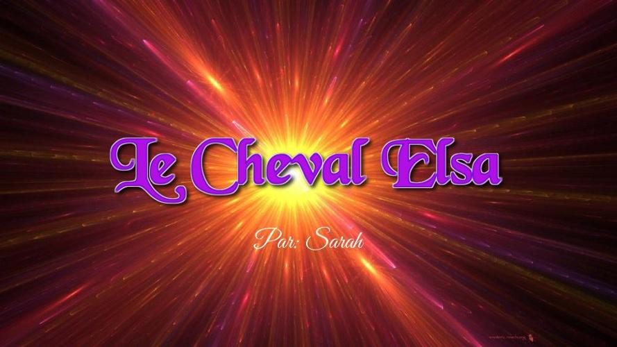 Le Cheval Elsa (1)