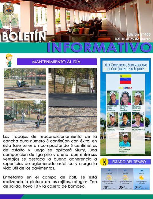 BOLETÍN N°405