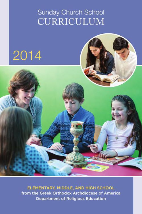 2014 Sunday School Church Curriculum - DRE