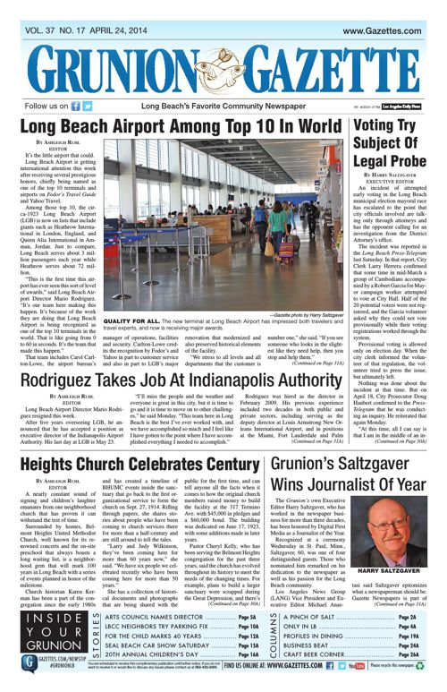Grunion Gazette | April 24, 2014