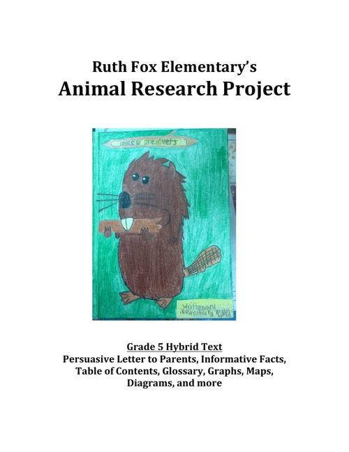 Grade 5: Animal Book Photo Excerpts