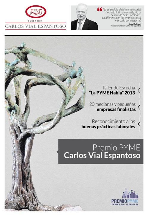 Fundación Carlos Vial Espantoso - Premio PYME