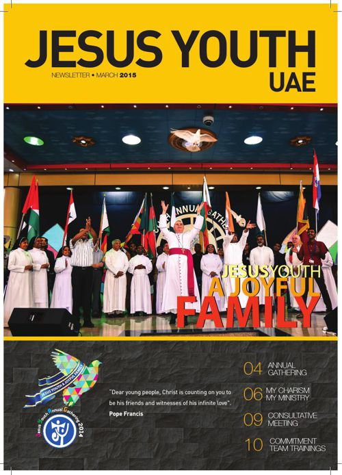 JESUS YOUTH UAE NEWS LETTER MARCH