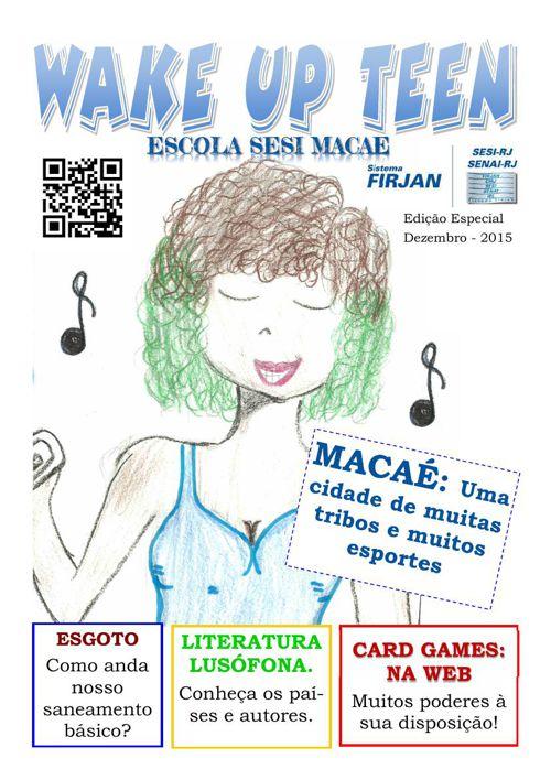 Wake Up Teen - Escola Sesi Macaé