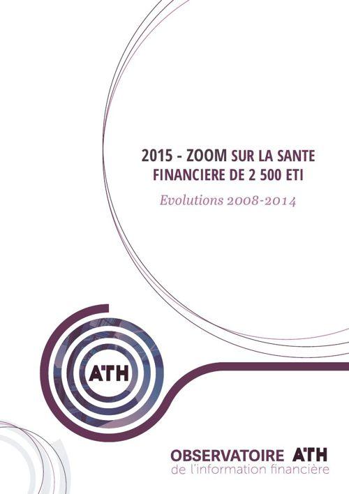 ATH - Etude - Santé financière ETI 2015