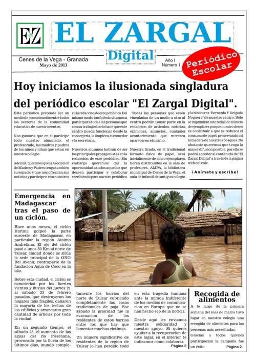 El Zargal Digital Mayo 2013