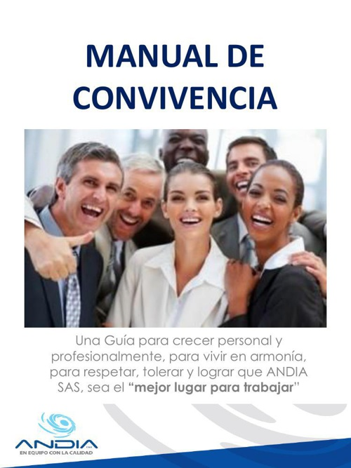 MANUAL DE CONVIVENCIA ANDIA SAS.