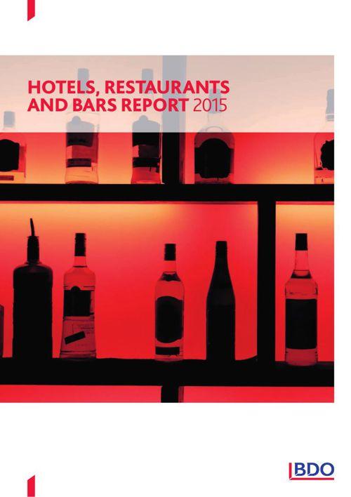 BDO Hotels Restaurants and Bars report 2015