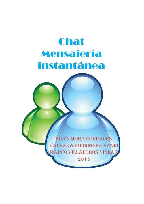 Chat_mensajería instantánea