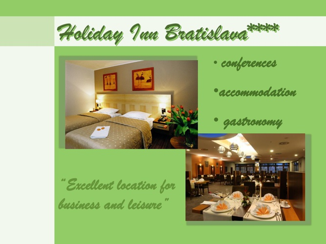 Holiday Inn Bratislava****