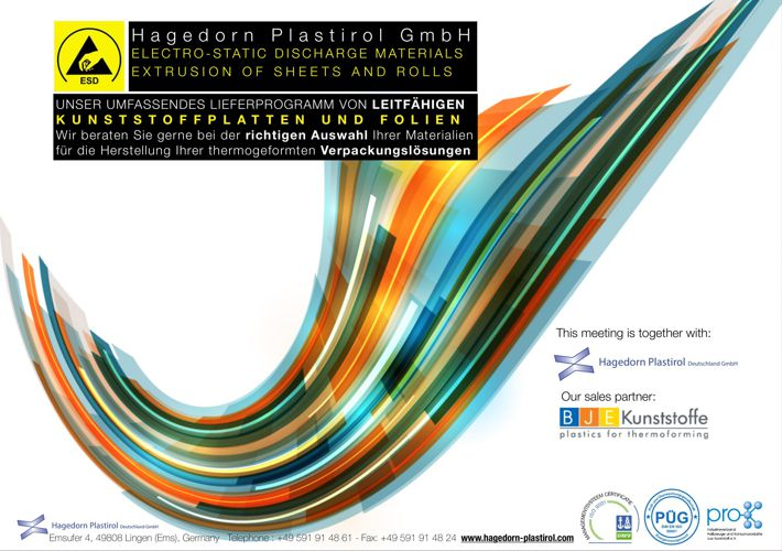 Hagedorn Plastirol LPS ESD product program Deutsche Sprache