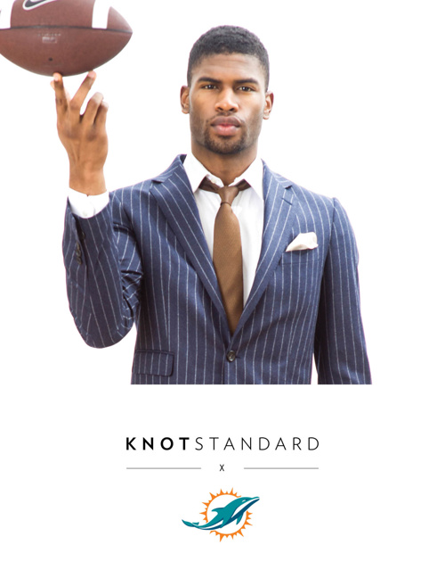 Copy of Miami Dolphins X Knot Standard