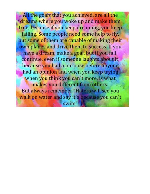 COLORFUL QUOTE