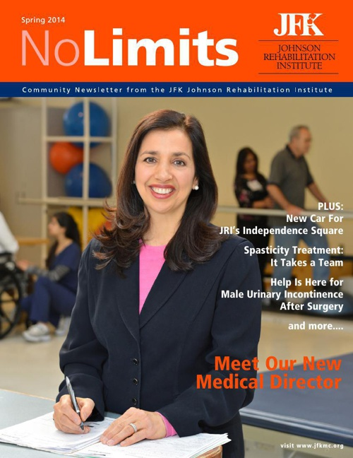 No Limits Newsletter. Spring 2014