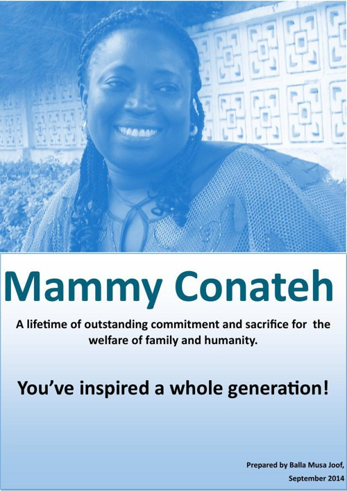 A Tribute to Mammy Conateh- By Balla Musa Joof