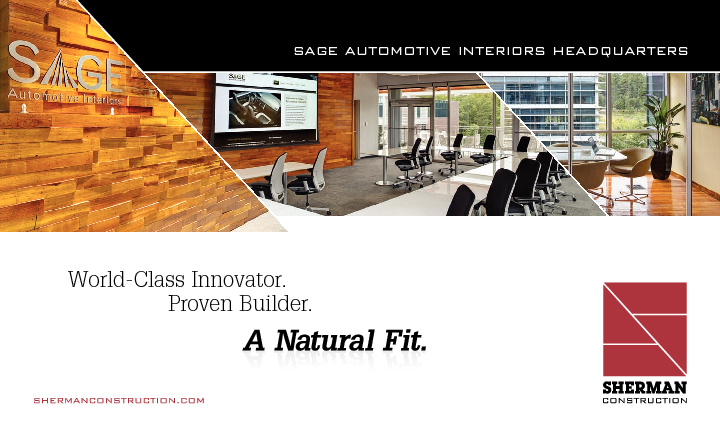 SAGE Automotive Interiors Headquarters